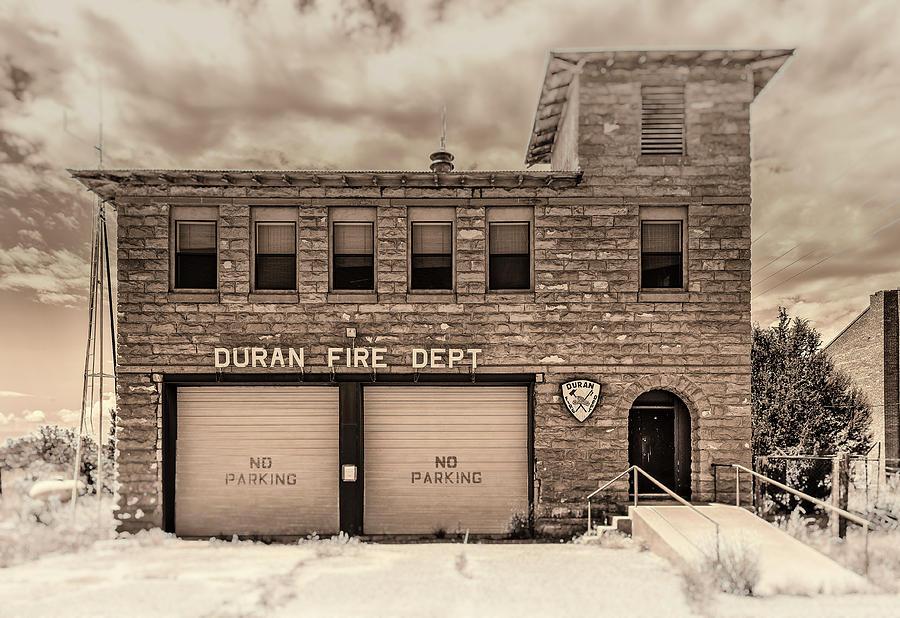 Duran Fire Dept by Lou Novick