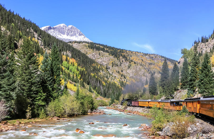 Durango Silverton Train by Dawn Richards