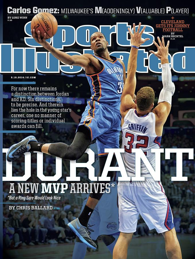 Durant A New Mvp Arrives Sports Illustrated Cover Photograph by Sports Illustrated