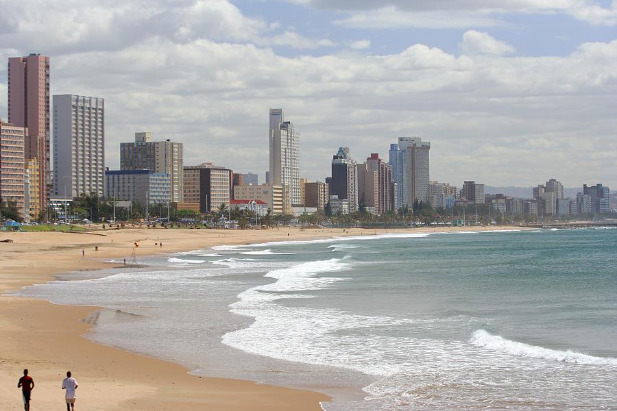 Durban Beachfront Landscape Photograph by Manoafrica