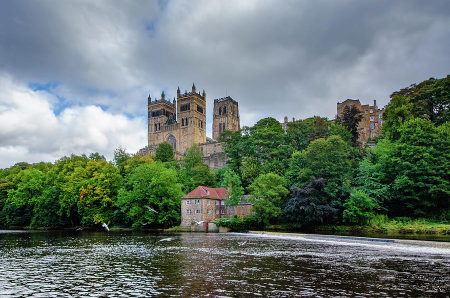 Durham Cathedral Mixed Media - Durham Cathedral by Smart Aviation