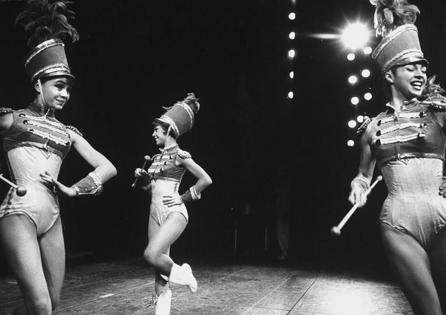 During A Broadway Musical Heres Love Ba Photograph by John Dominis