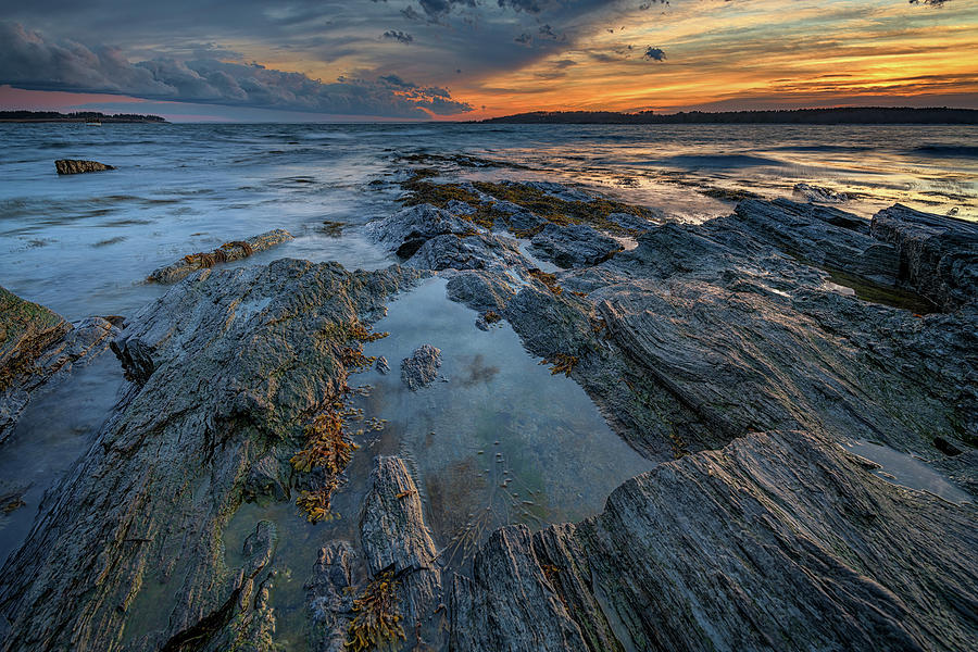 Dusk at Kettle Cove by Rick Berk