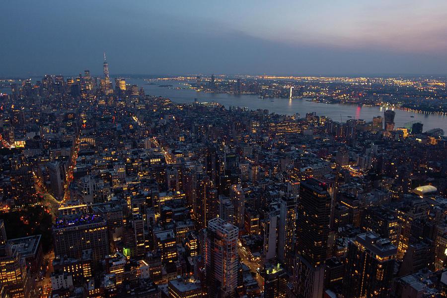 Dusk On New York City Photograph