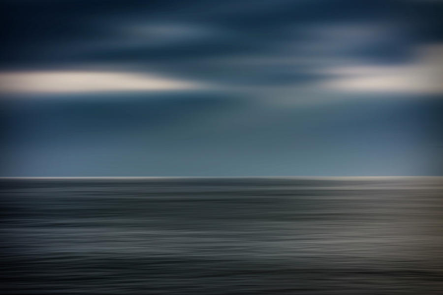 Abstract Photograph - Dusk Stormy At Sea by Vicente Sargues