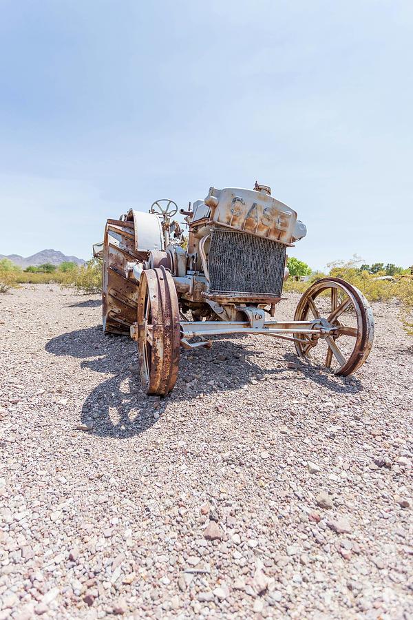 Nevada Photograph - Dust Bowl Farm by Edward Fielding