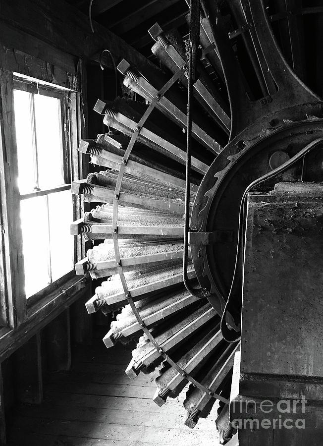 Mill Photograph - Dust Collector by Megan Cohen