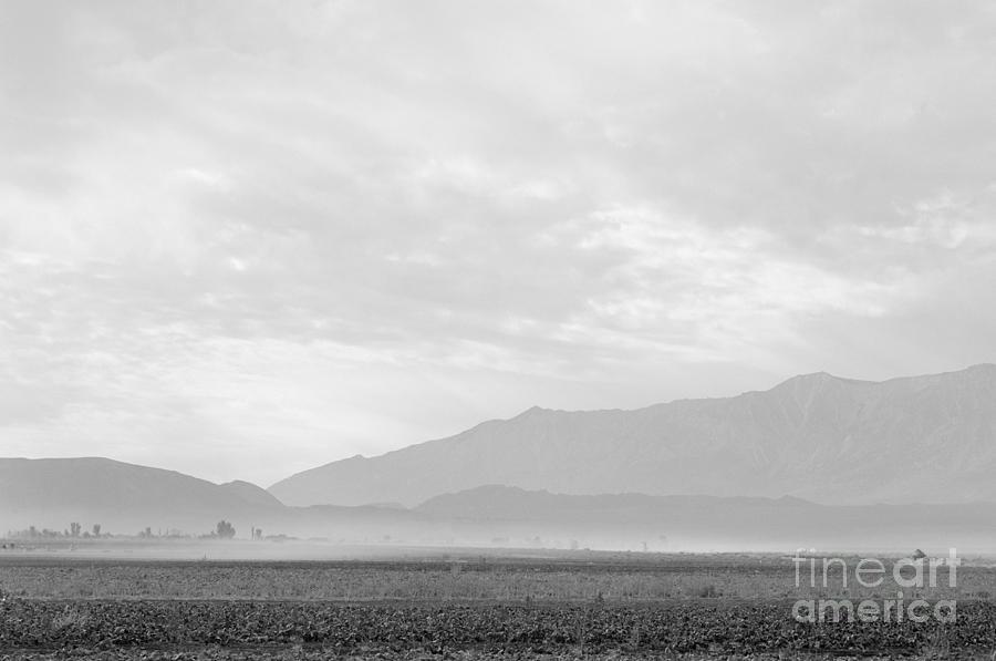 Dust Storm over Manzanar, 1943 by Ansel Adams