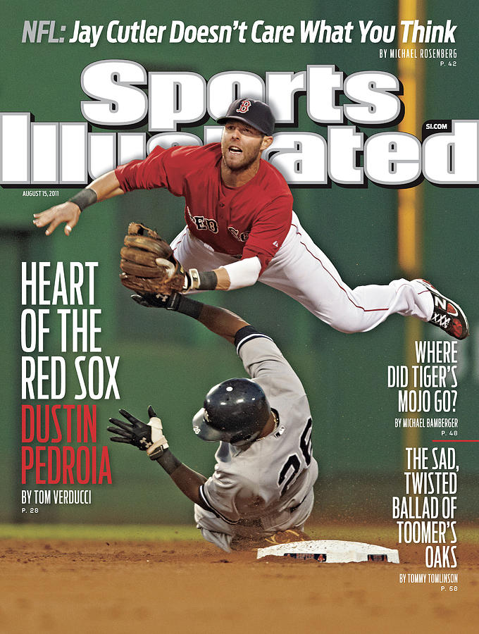Dustin Pedroia Heart Of The Red Sox Sports Illustrated Cover Photograph by Sports Illustrated