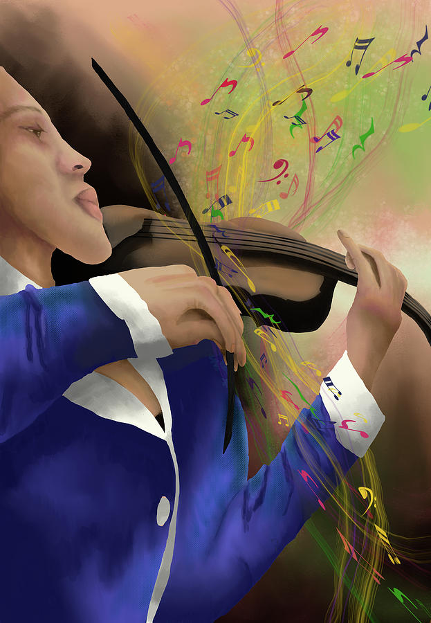 Dusting off the Violin by April Burton