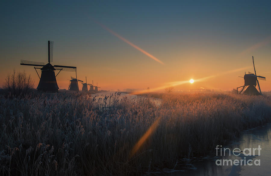 Dutch Dawn III by David Lichtneker