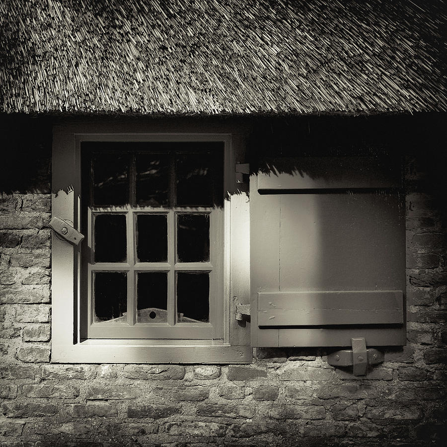 Dutch Farmhouse Window Photograph