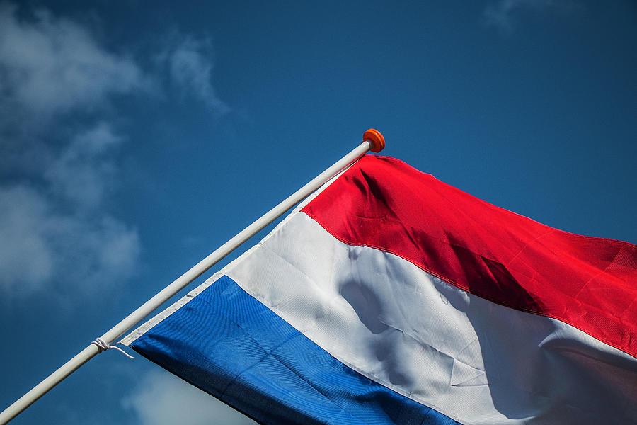 Flag Photograph - Dutch Flag by Anjo Ten Kate