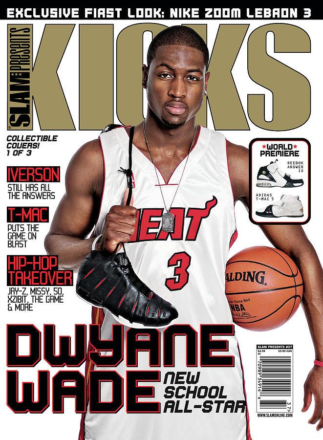 Dwayne Wade: New School All-Star SLAM Cover Photograph by Atiba Jefferson
