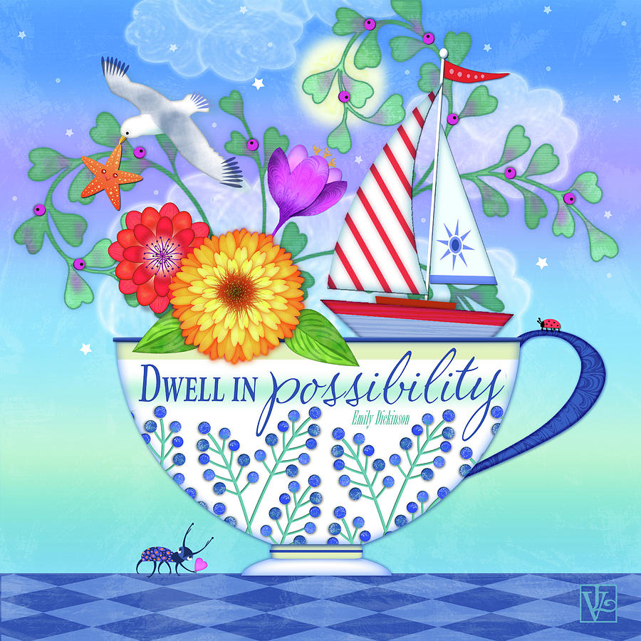 Dwell in Possibility by Valerie Drake Lesiak