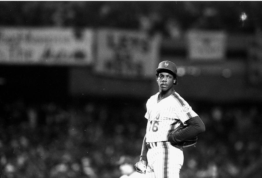 Dwight Goodens First World Series Game Photograph by New York Daily News Archive