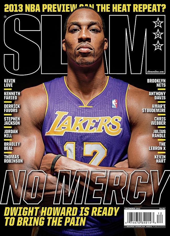 Dwight Howard: No Mercy SLAM Cover Photograph by Atiba Jefferson