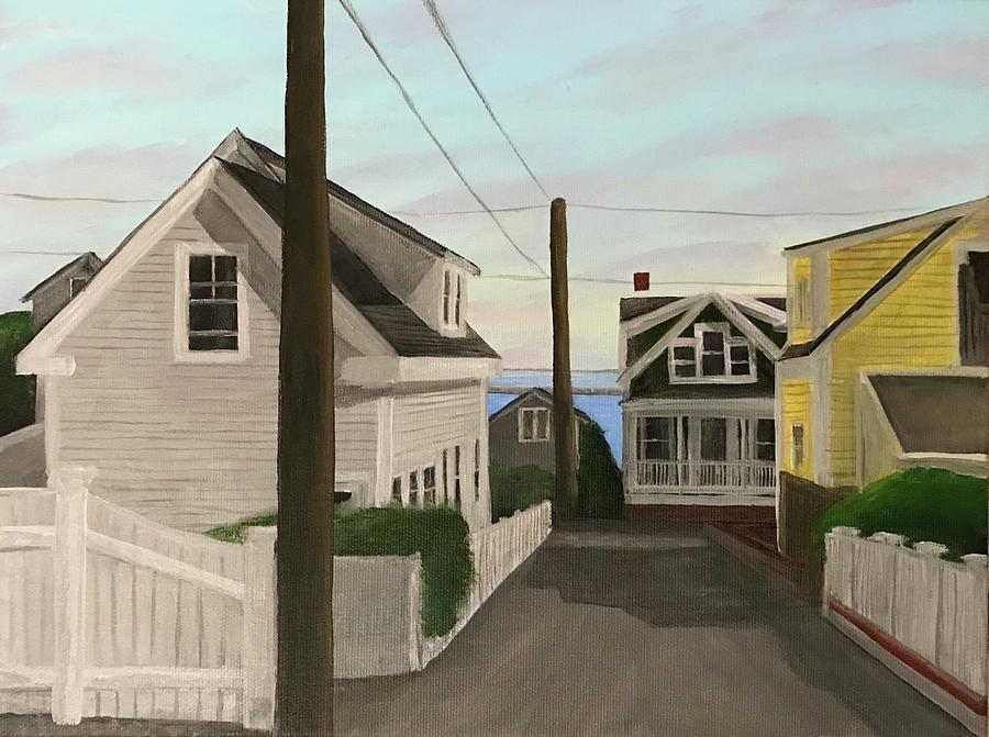 Provincetown Painting - Dyer Street by Derek Macara