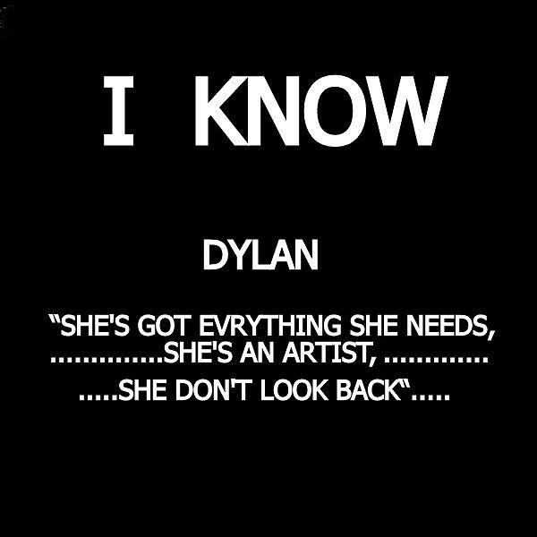 Dylan quote  -  nfs by VIVA Anderson
