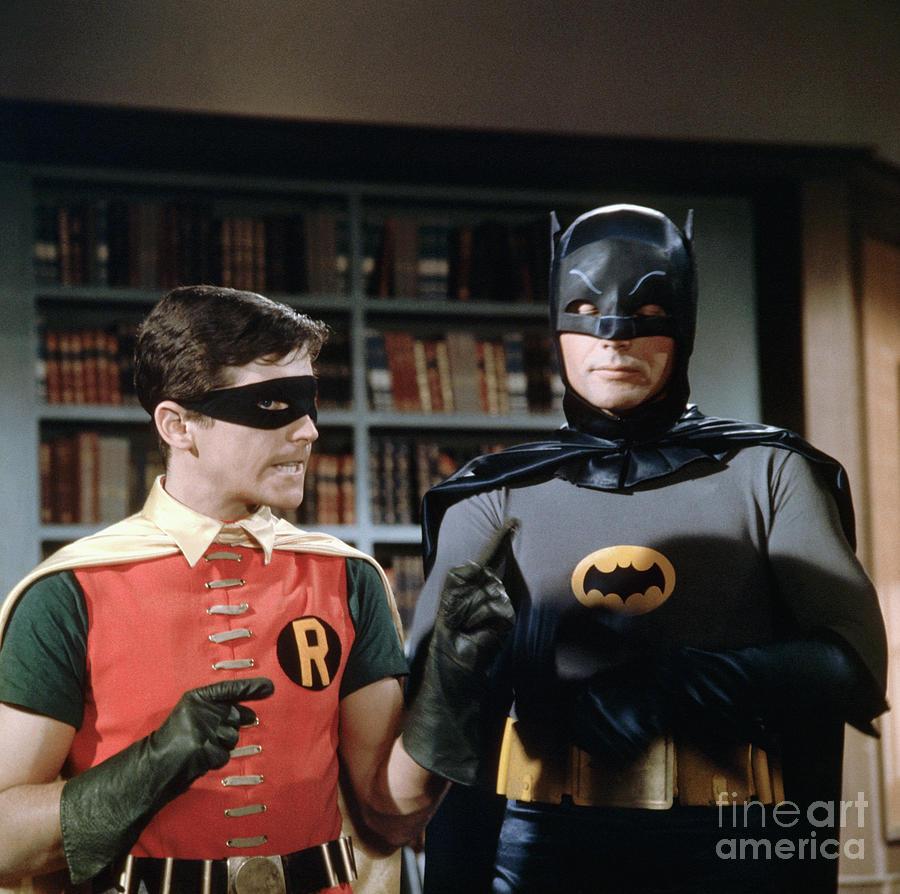 Dynamic Duo Batman And Robin Planning Photograph by Bettmann