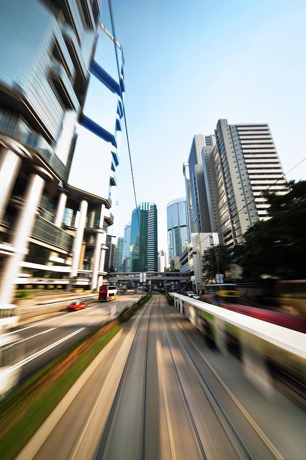 Dynamic Modern City Photograph by Itsskin