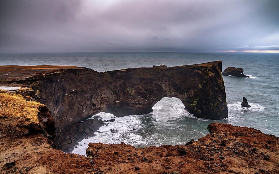 Iceland Photograph - Dyrholaey Haze by Framing Places