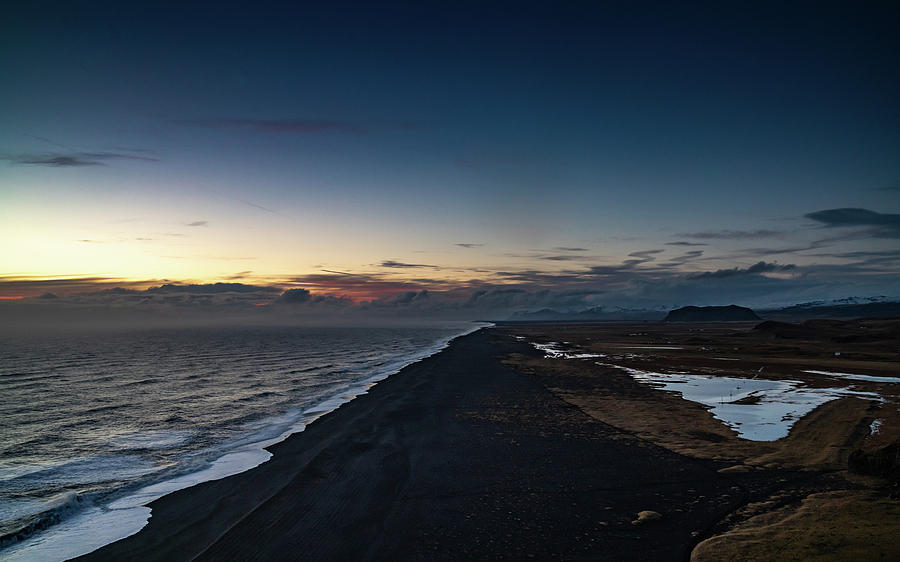 Iceland Photograph - Dyrholaey Sunset by Framing Places