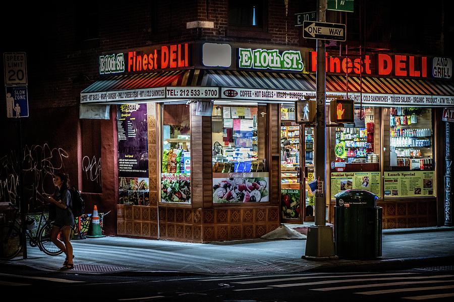 E 10th Street Deli by Greg Mimbs