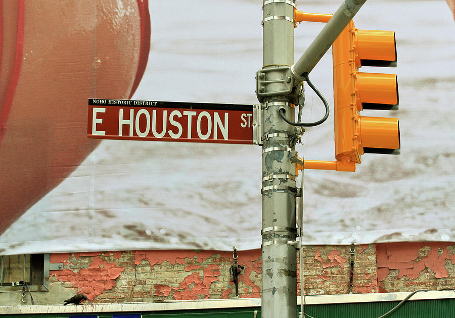 E. Houston Street, New York by Ann Murphy