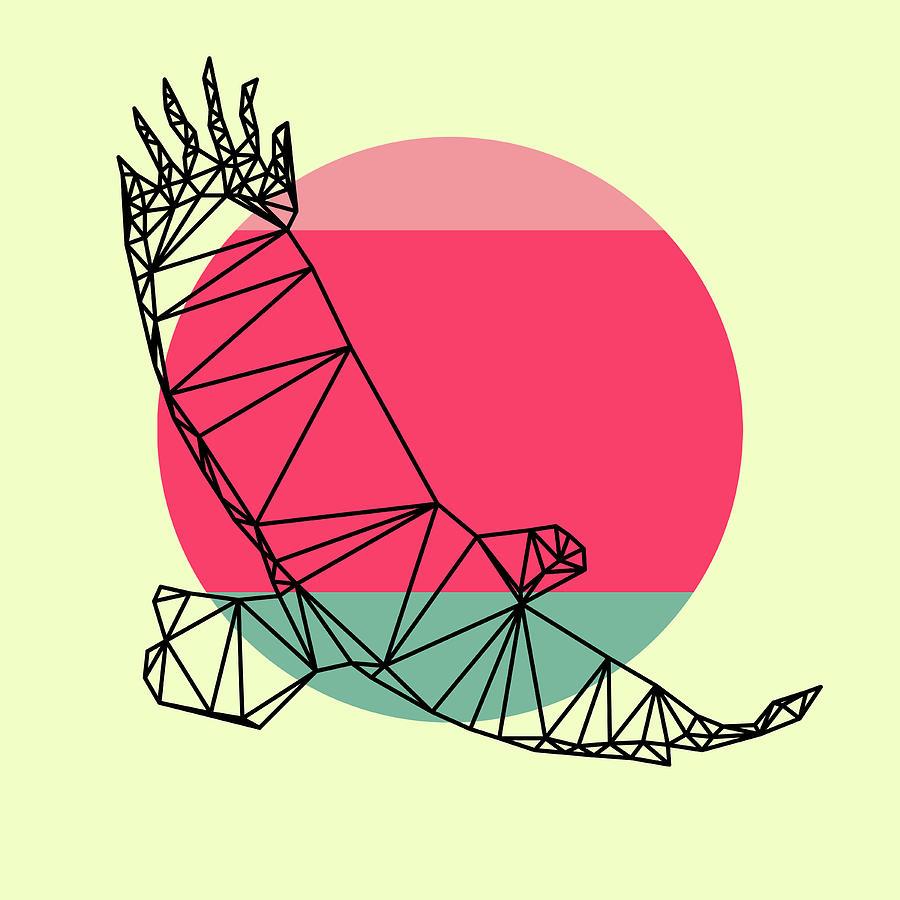 Eagle Digital Art - Eagle And Sunset by Naxart Studio
