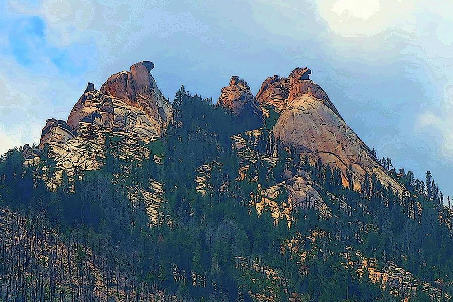 Eagle Beak Peak by Robert Blandy Jr