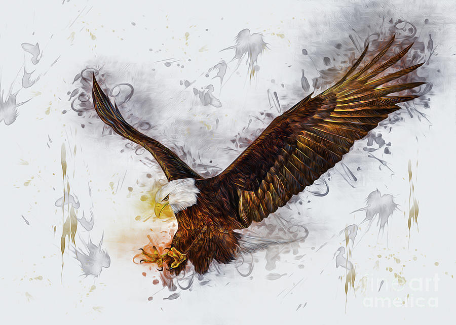 Eagle by Ian Mitchell