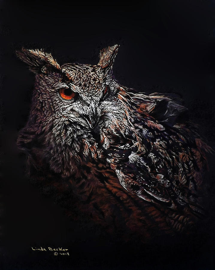 Eagle Owl by Linda Becker