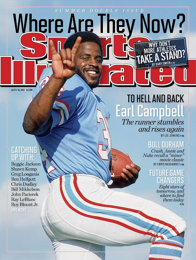 Earl Campbell, Where Are They Now Sports Illustrated Cover Photograph by Sports Illustrated