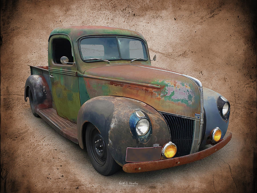 Early 40s Pickup by Keith Hawley
