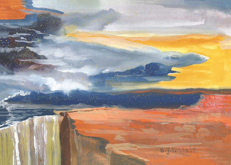 Early Canyon Sky by Sheri Jo Posselt