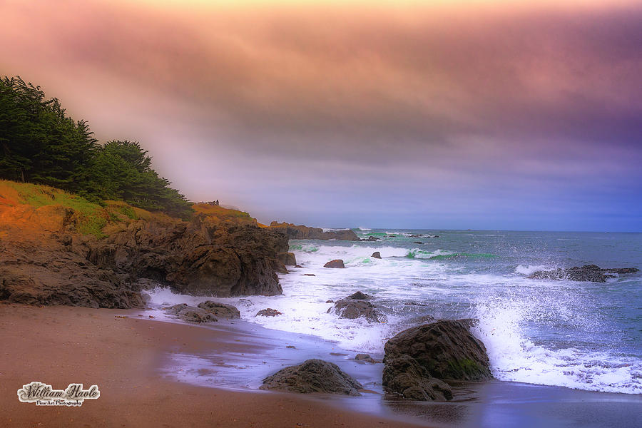 Early Dawn Beach by William Havle