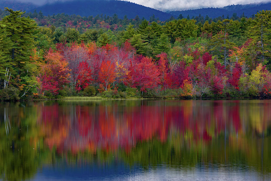 Early fall Color at Chocorua by Jeff Folger