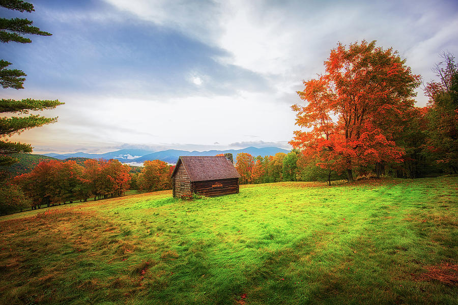 Early fall in the White Mountains by Robert Clifford