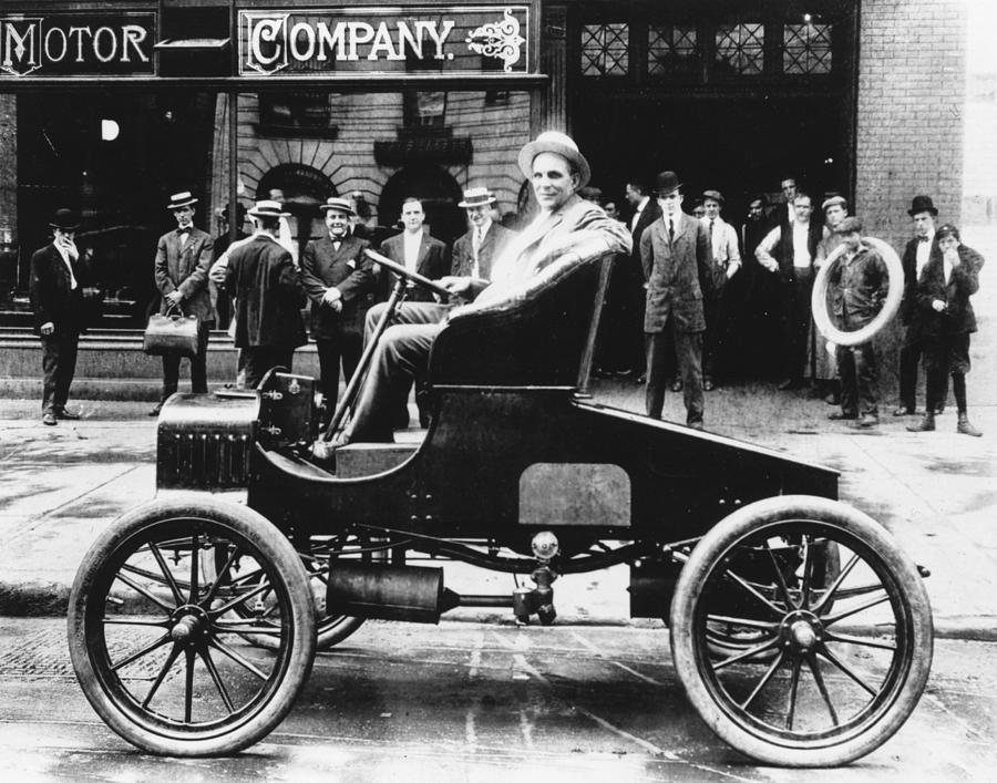 Early Ford Photograph by Keystone Features