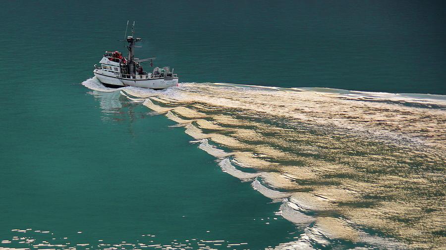 Early Morning Fishing Skagway Alaska by Russ Harris