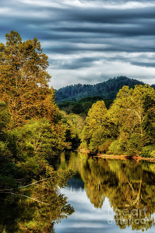 Early Morning Light Gauley River by Thomas R Fletcher