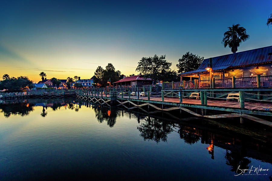 Early Morning on the Boardwalk by Bryan Lee Williams