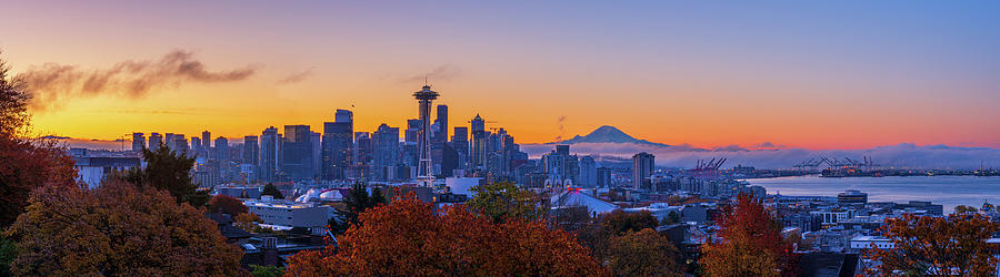 Early Morning Seattle by Michael Lee