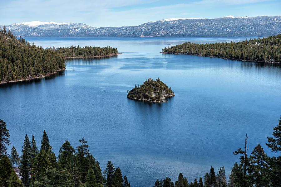 Early Winter At Emerald Bay - Lake Tahoe - California Photograph