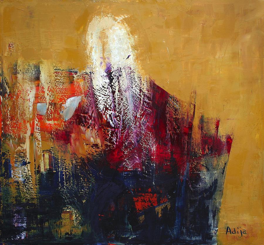 Shamanic Painting - Earth Dancer by Adija Wolf