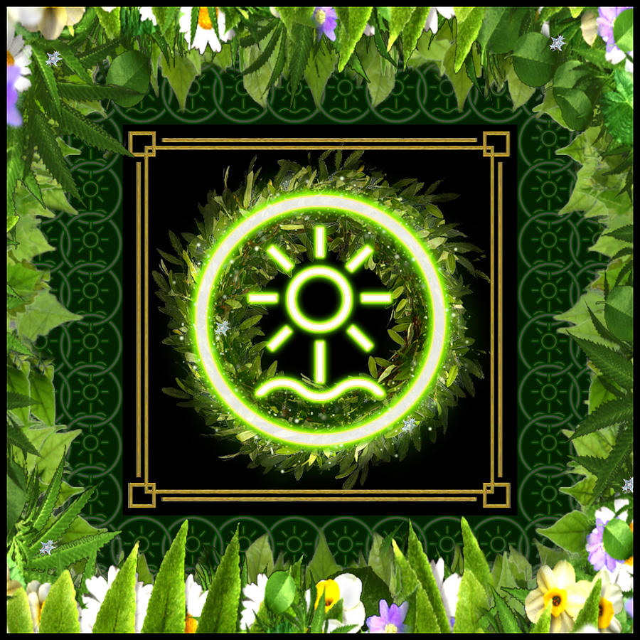 Earth Emblem Sigil by Shawn Dall