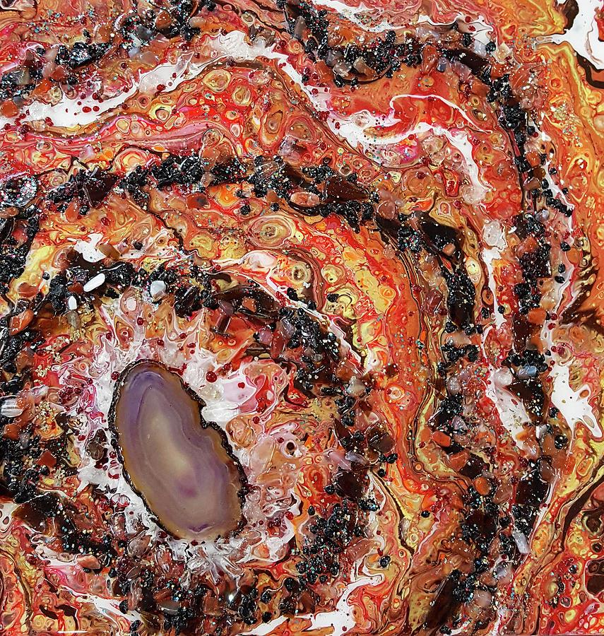 Earth Gems #18W018 by Lori Sutherland