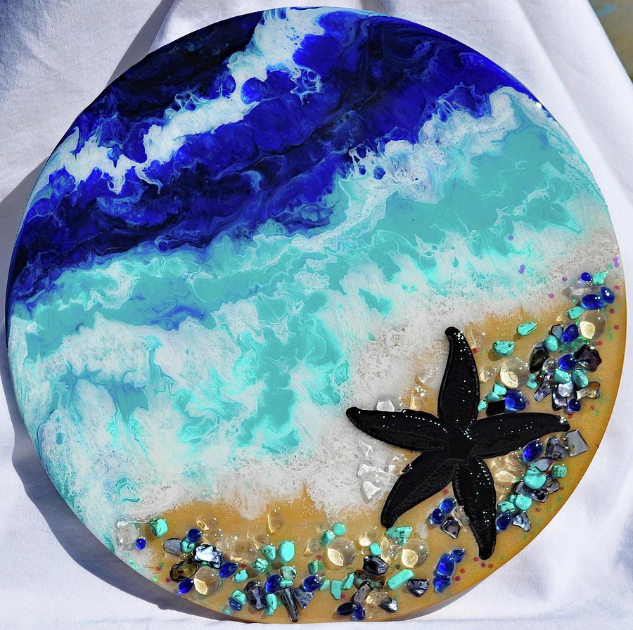 Earth Gems #19W168 round by Lori Sutherland