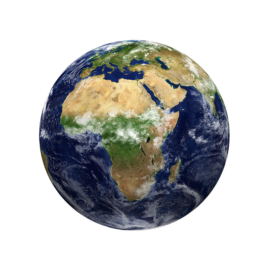 Earth View - Africa Photograph by Kativ